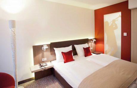 Zimmer im bigBOX ALLGÄU Hotel in Kempten