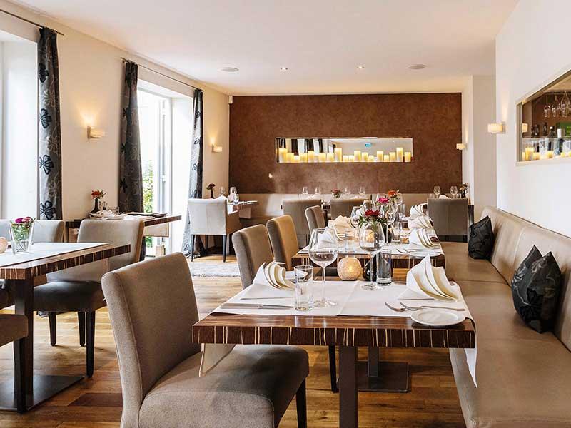 Innenansicht Restaurant Meersalz, Boutiquehotel Friesinger