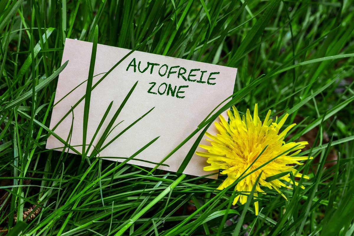 autofreie zone