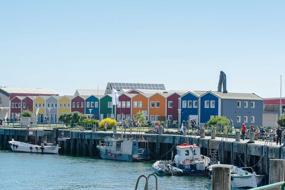 helgoland Hafen