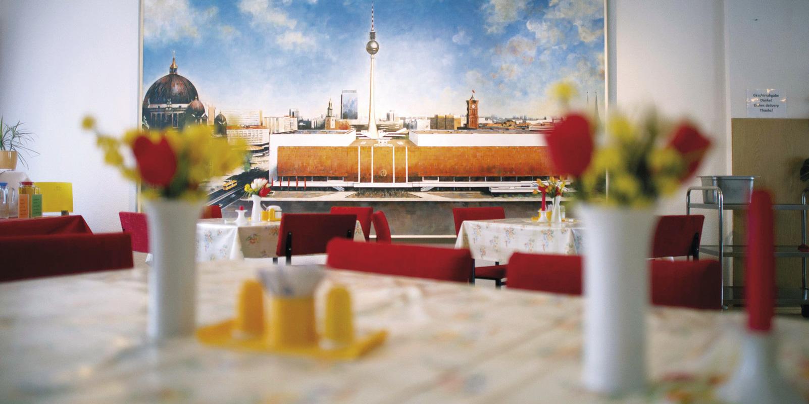 Innenansicht, Restaurant Volkskammer
