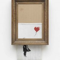 "bansky bild ""love in the bin"""