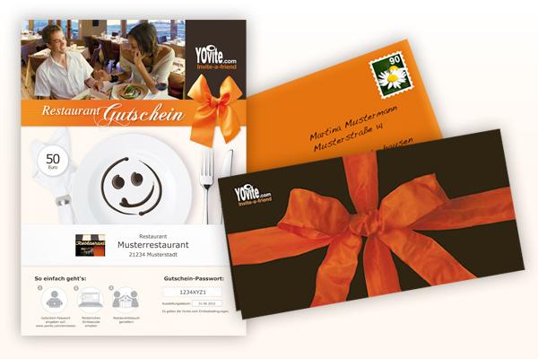 Universal Restaurantgutschein von Yovite