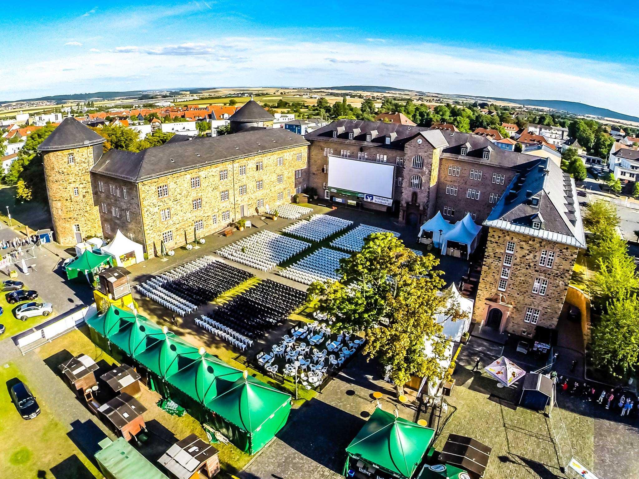 Open-Air-Kino im Landgrafenschloss Butzbach