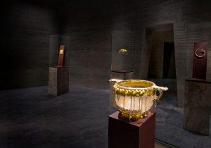 Ausstellungsstück Goldkammer Frankfurt