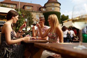 Das Stuttgarter Weindorf