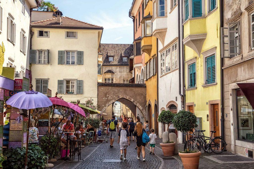 Via Dr. Josef Streiter in Bozen, Südtirol