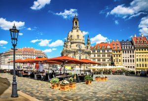 Altstadt Dresden im Sommer