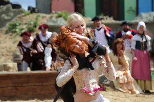 Frauenkampf Piraten Open Air