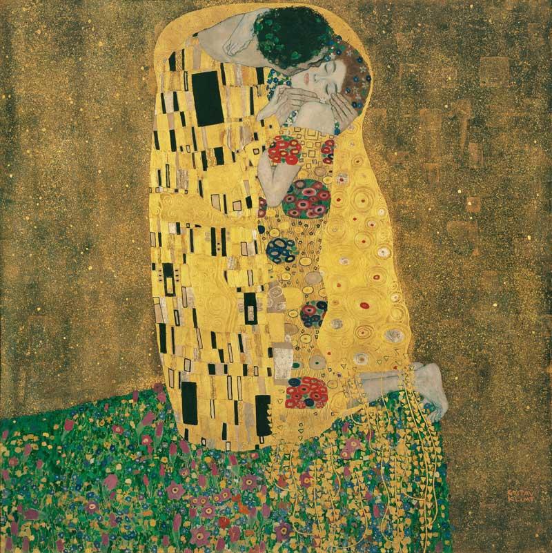 Gustav Klimt, Kuss
