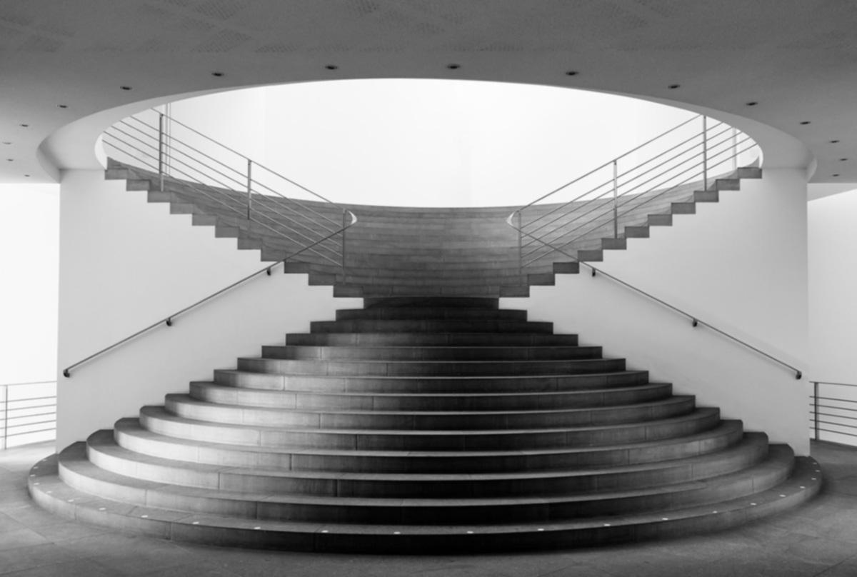 Kunstmuseum Bonn, Treppen