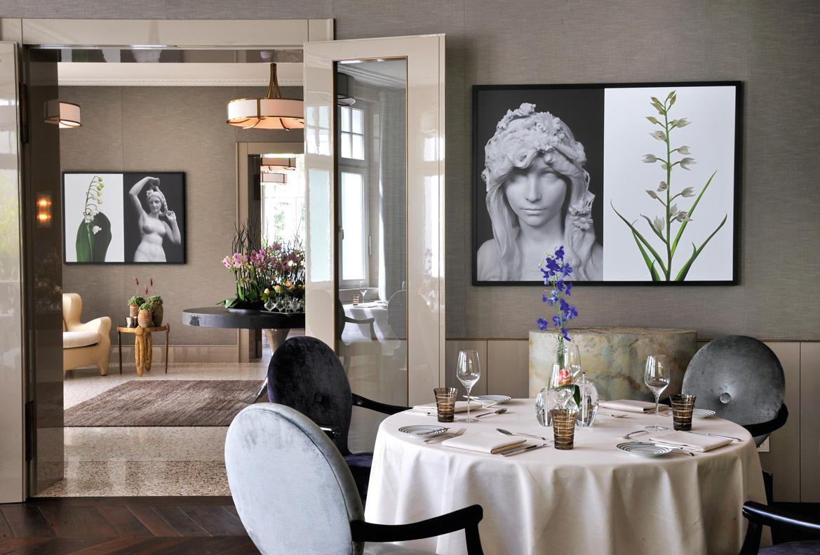 Innenansicht Restaurant Ophelia