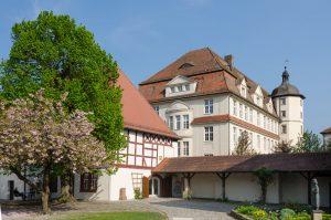Neues Schloss in Neustadt an der Aisch - Aischtalradweg