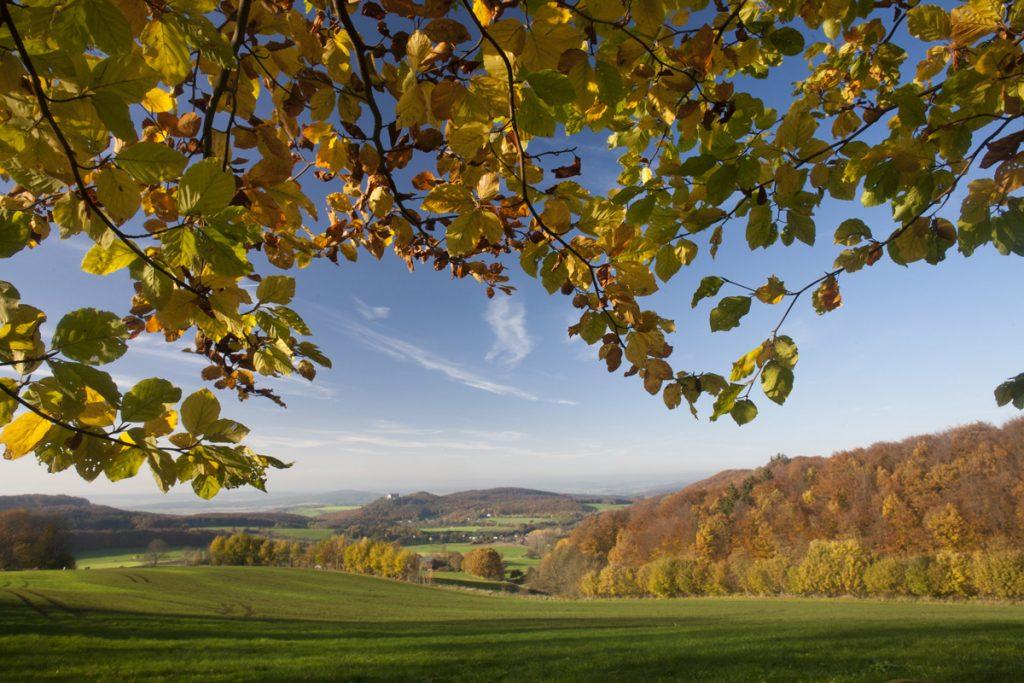 Rhön-Landschaft - Reisetipps für den Spätsommer