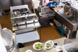 Restaurant Einrichtung, Küche