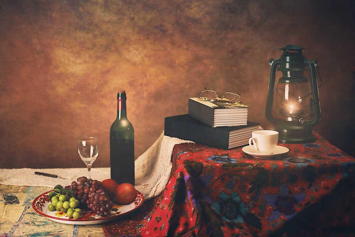 Wein Stillleben