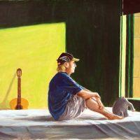 Otto, Sittin' in the morning Sun, 2018 nach Hopper