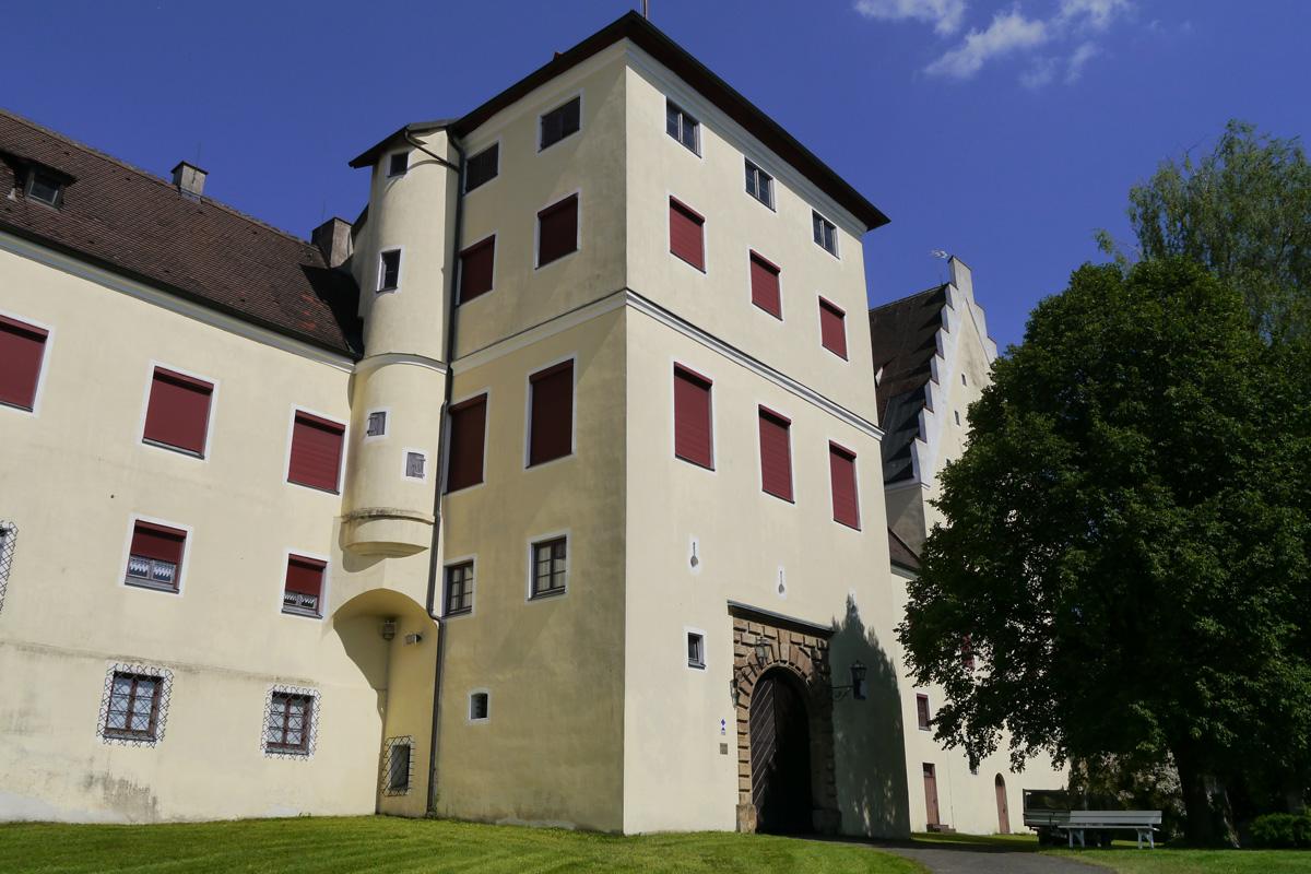 Fuggerschloss Babenhausen - Günztal-Radweg