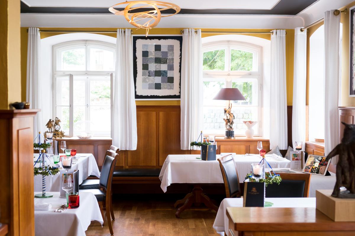 Innenansicht Christians Restaurant