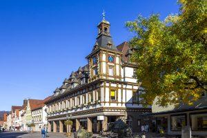 Geislingen an der Steige, Altes Rathaus - Albtäler-Radweg