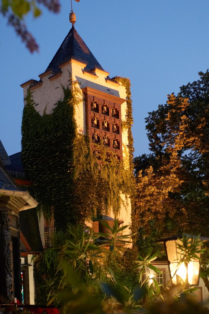 Außenansicht Breuers Rüdesheimer Schloss