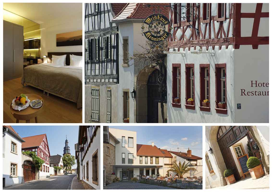 Collage Weinhaus Henninger
