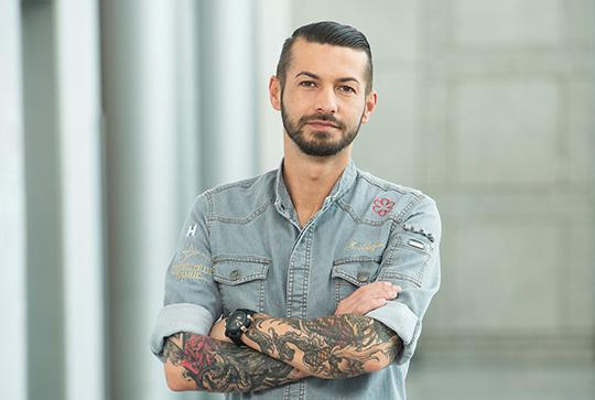 Marco Akuzun Porträt