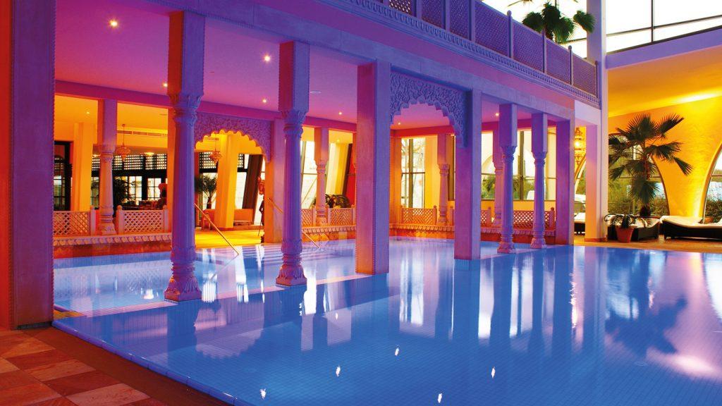 Sauerstoffsprudelbad im Mediterana - Die schönsten Sauna- und Wellnesslandschaften
