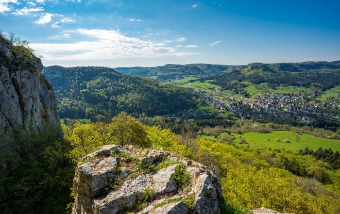 Schwäbische Alb Panorama