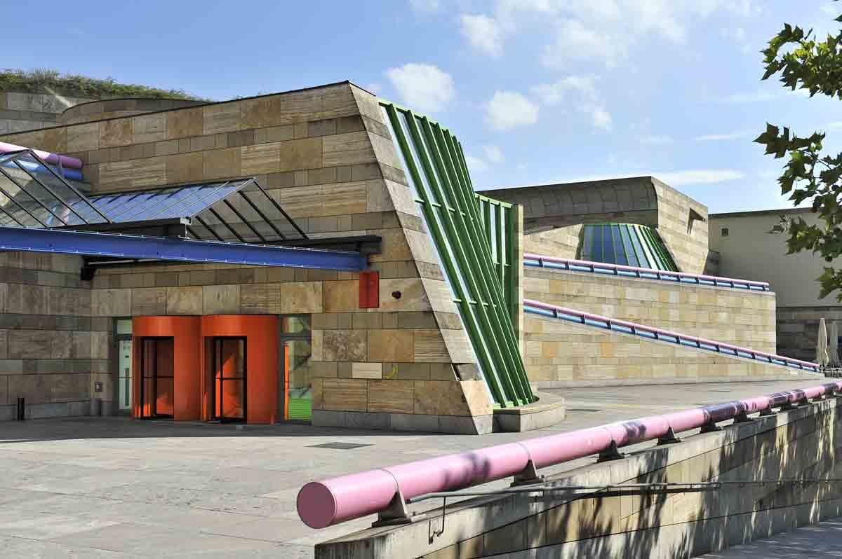 Der Stirling-Bau der Staatsgalerie Stuttgart