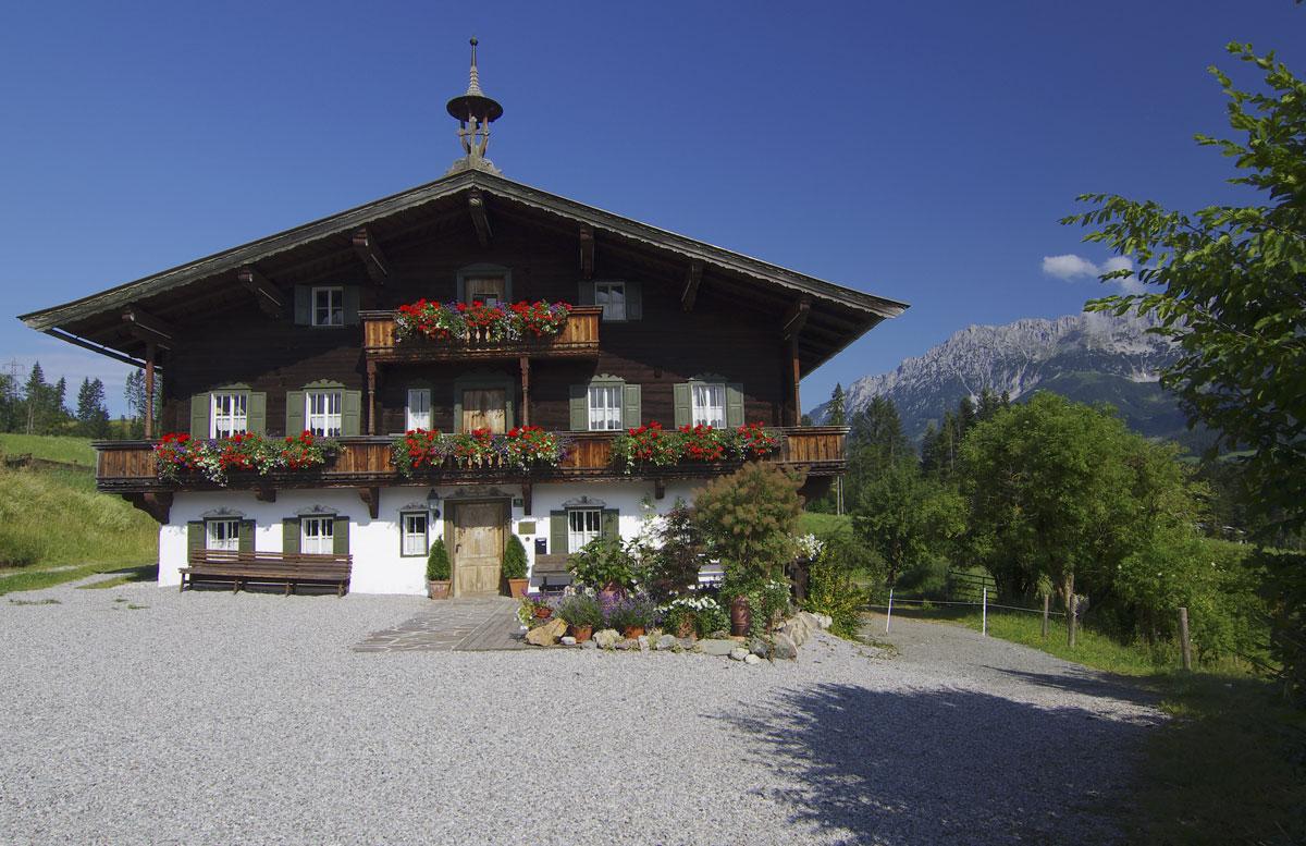 Bergdoktorhaus Wilder Kaiser Ellmau