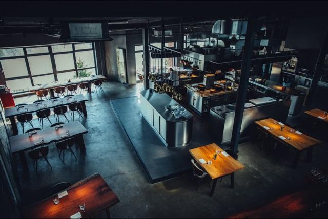 Innenansicht Restaurant 100/200