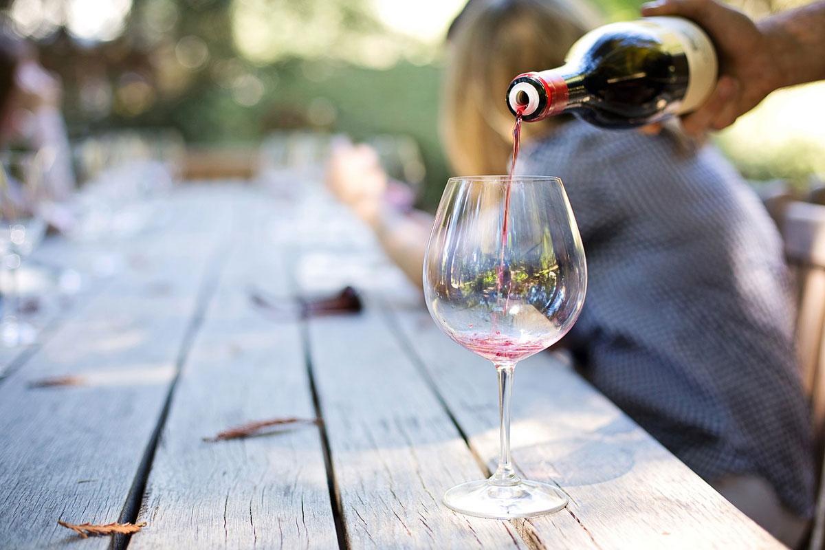 Wein Verkostung