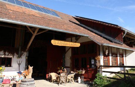 Alpakaladen in Eigeltingen-Guggenhausen