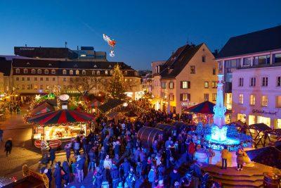 Christkindl-Markt Saarbrücken - stimmungsvolle Adventszeit