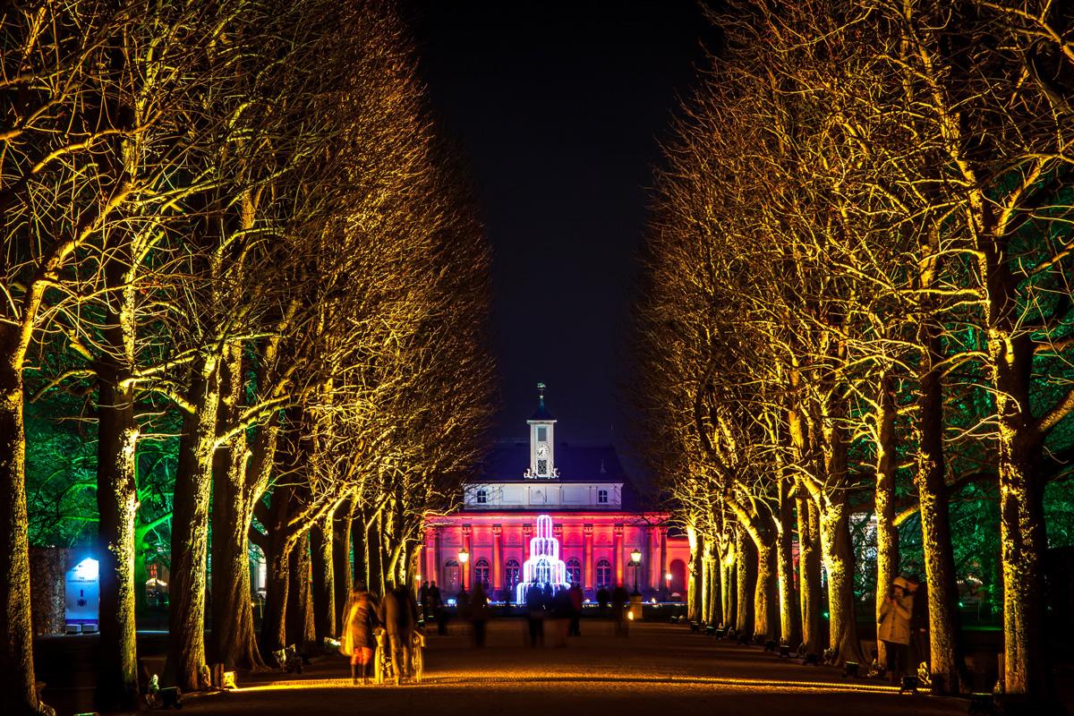 Christmas Garden Dresden, Magische Maillebahn