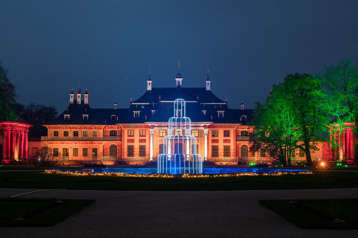 Christmas Garden Dresden, Neues Palais