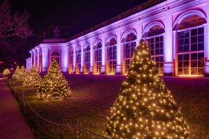 Christmas Garden Dresden, Orangerie im Weihnachtslicht