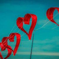 Drachen Herzform