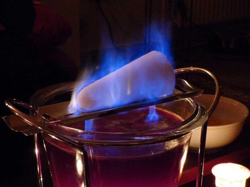 Feuerzangenbowle Zuckersktueck