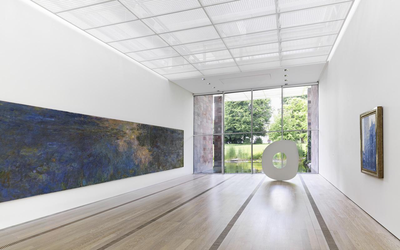Fondation Beyeler, Blick in den Monet-Saal