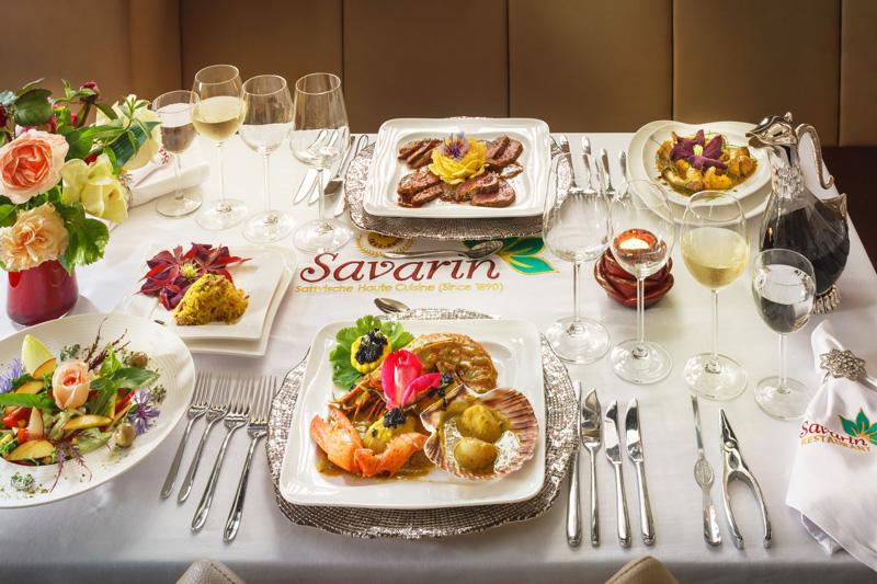 Foodbild Restaurant Savarin