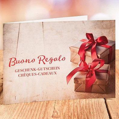 Geschenkgutschein Gustini