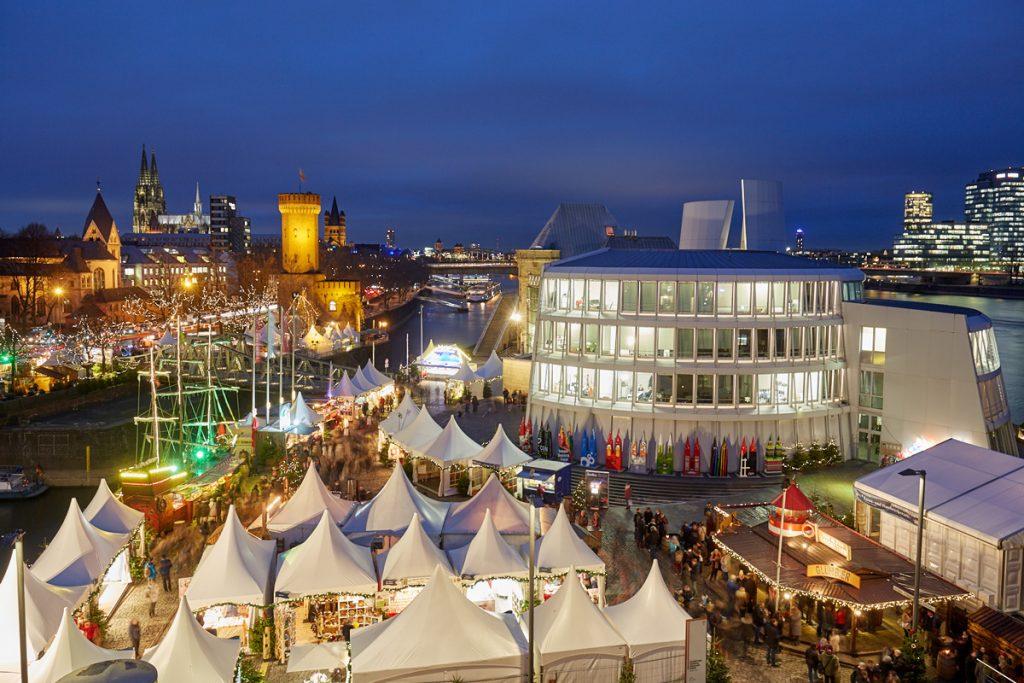 Hafen-Weihnachtsmarkt Köln - kuschelige Weihnachtsmärkte