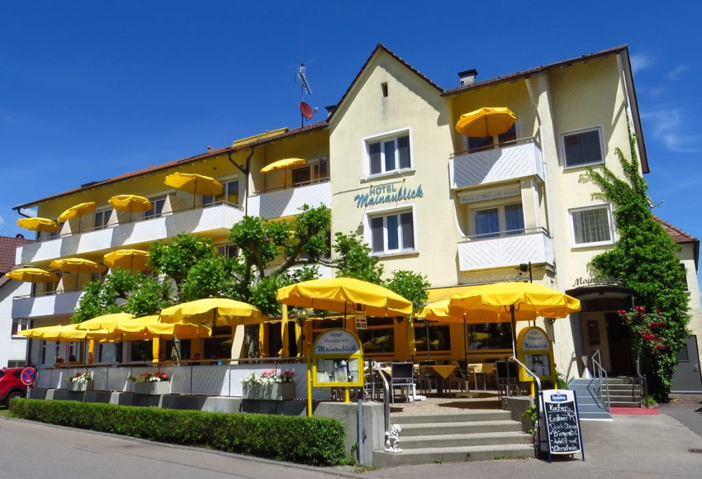 Erholen im Hotel Mainaublick am Bodensee