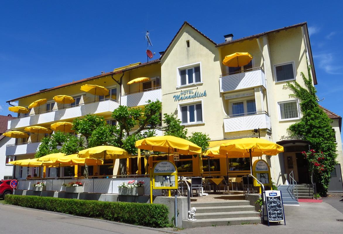 Außenansicht Hotel Mainaublick