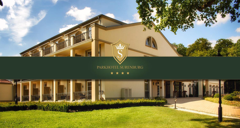 Außenansicht Parkhotel Surenburg