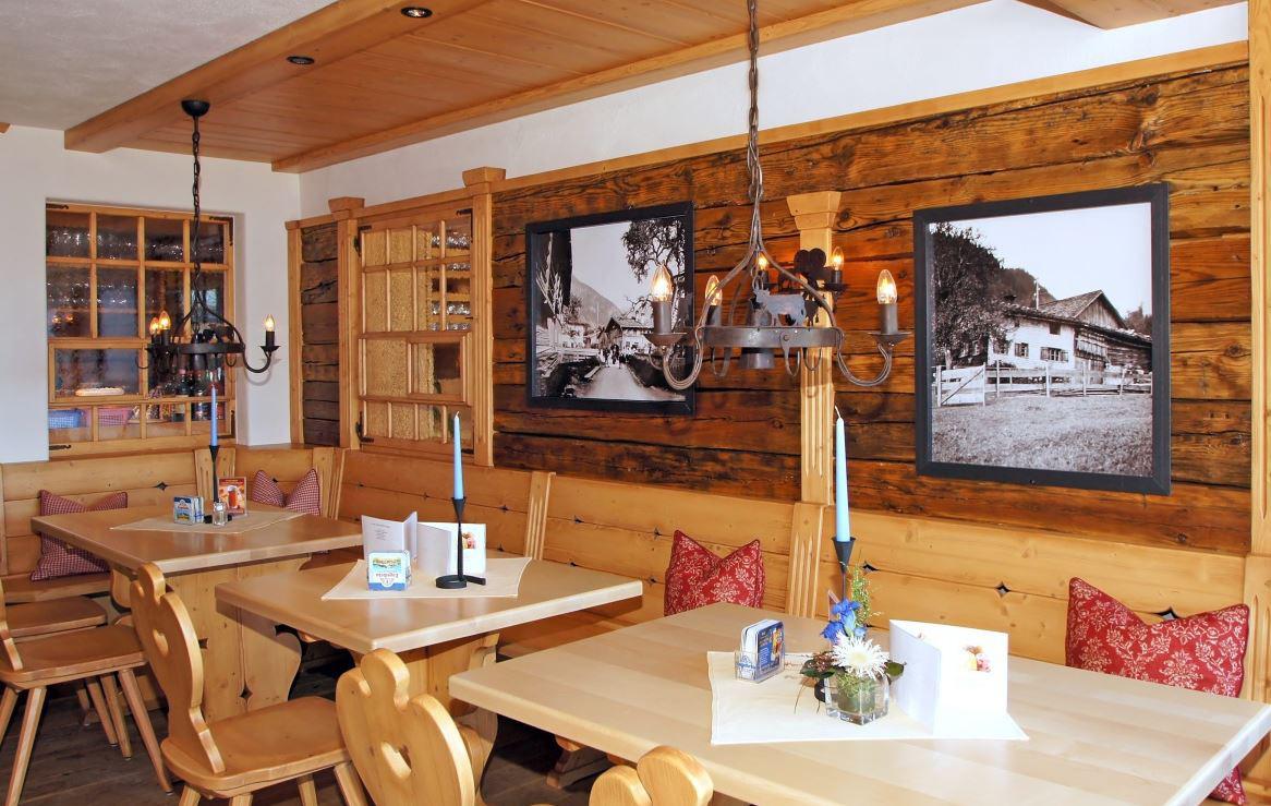 Restaurant in der Alpe Dornach in Oberstdorf