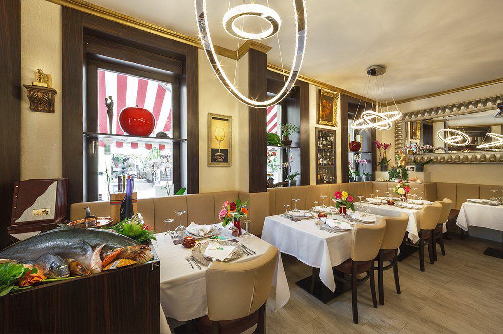 Innenansicht Restaurant Savarin
