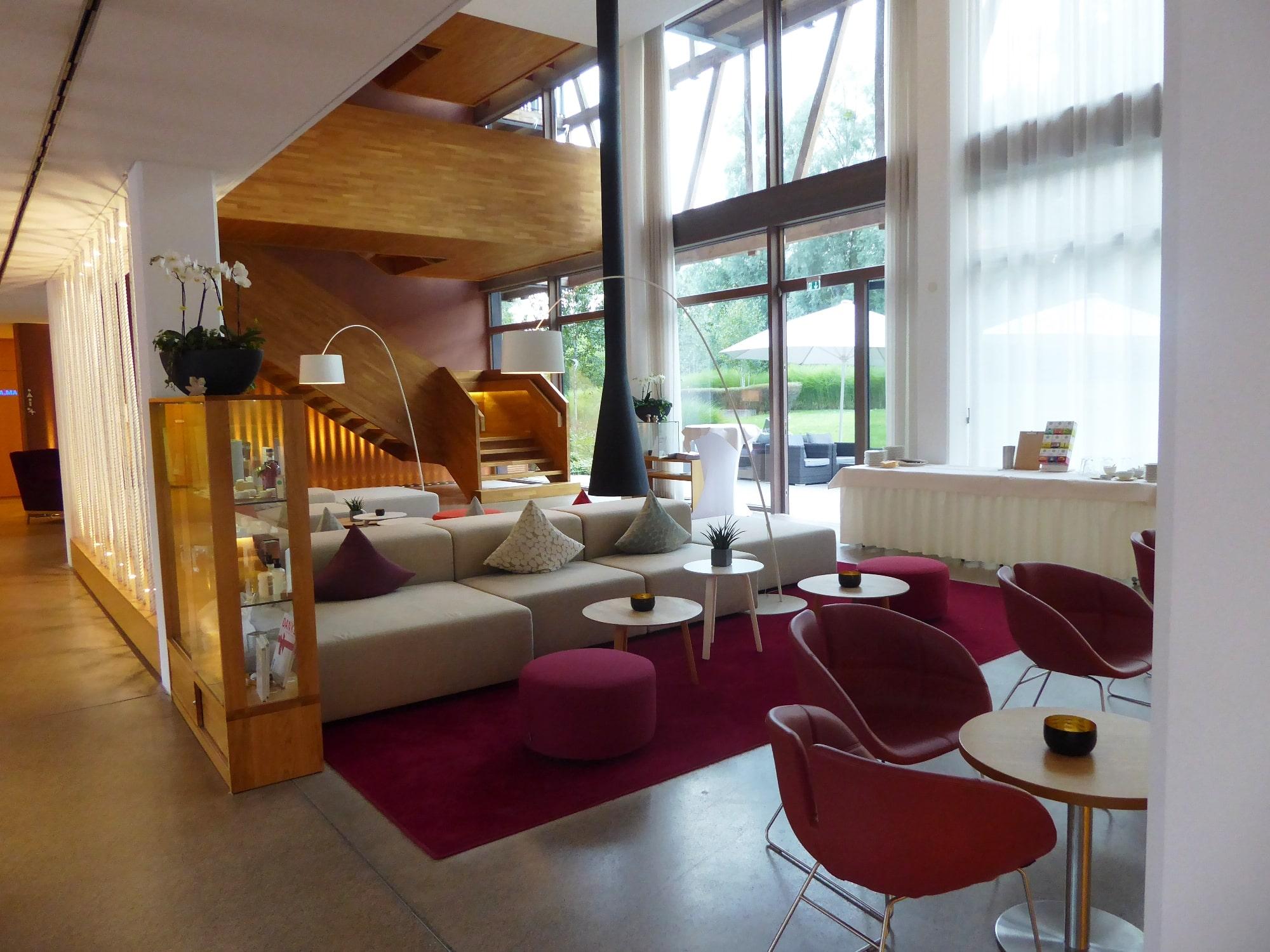 Lobby Bora HotSpa Resort, Radolfzell